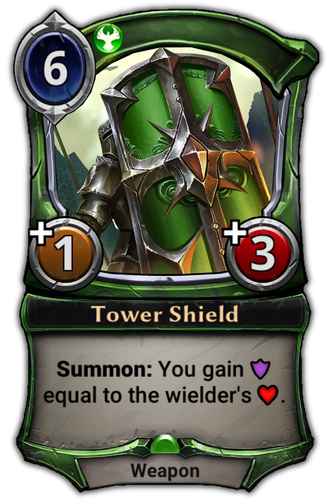 Tower Shield card