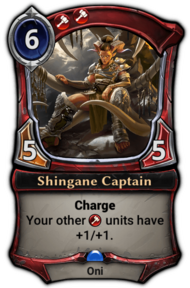 Shingane Captain