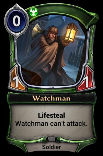 Watchman card