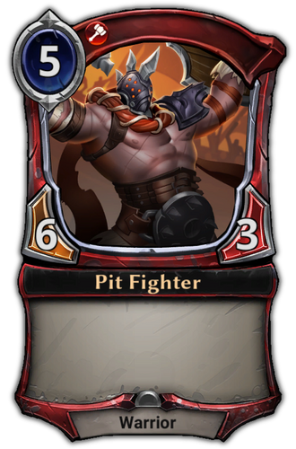 Pit Fighter card