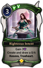 Righteous Intent