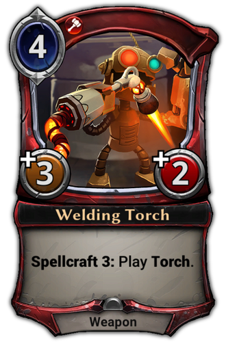 Welding Torch card