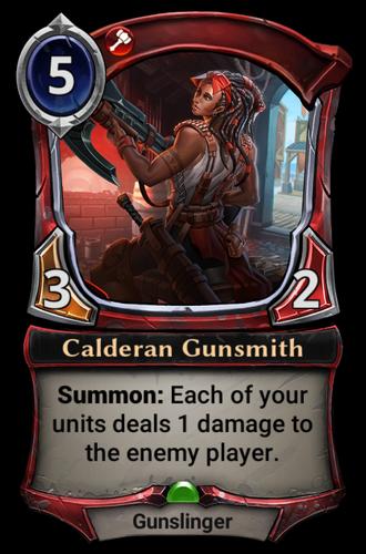 Calderan Gunsmith card