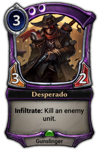Desperado card