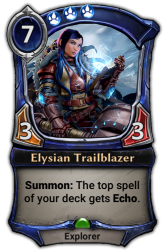 Elysian Trailblazer card