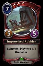 Improvised Rubbler