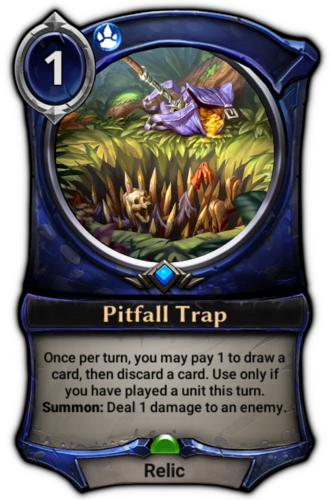 Pitfall Trap card