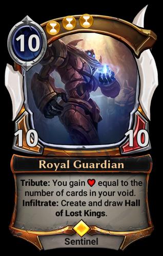 Royal Guardian card