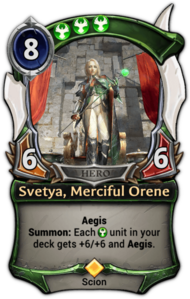 Svetya, Merciful Orene