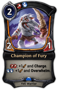 Champion of Fury
