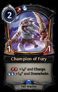 Champion of Fury