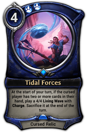 Tidal Forces card