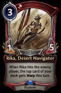Rika, Desert Navigator