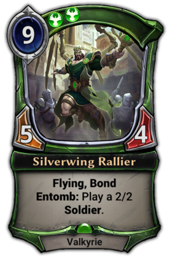 Silverwing Rallier card
