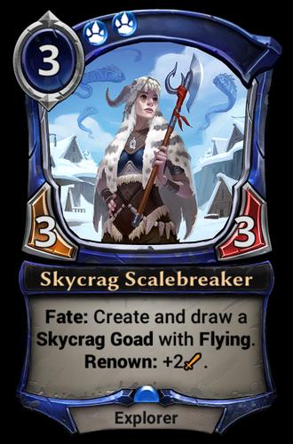 Skycrag Scalebreaker card