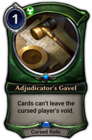 Adjudicator's Gavel