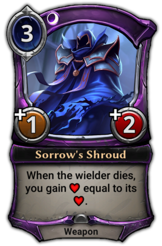 Sorrow's Shroud card