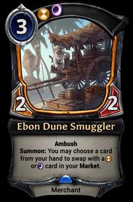 Ebon Dune Smuggler