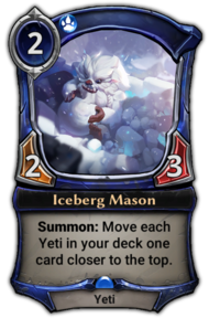 Iceberg Mason