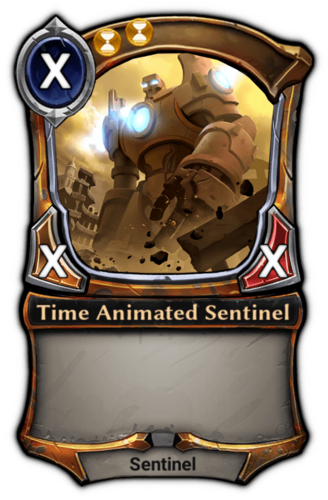 Time Animated Sentinel card