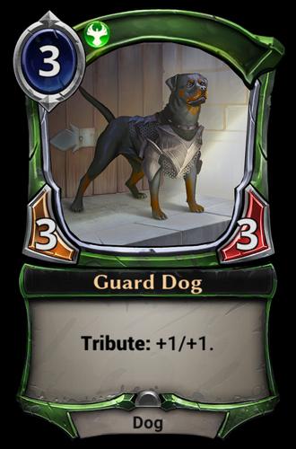 Guard Dog card