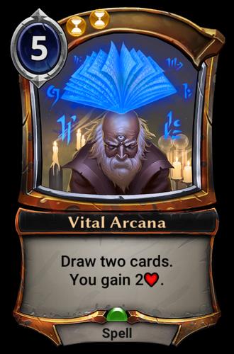 Vital Arcana card
