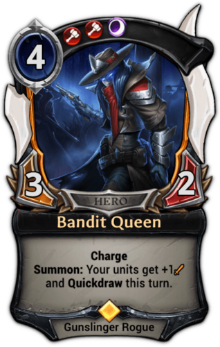Bandit Queen card