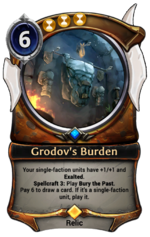 Grodov's Burden