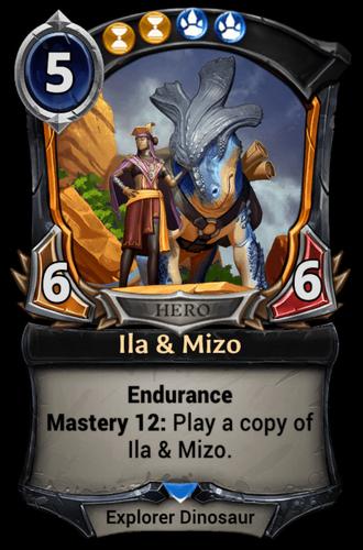 Alternate-art Ila & Mizo card