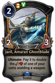 Jaril, Amaran Ghostblade