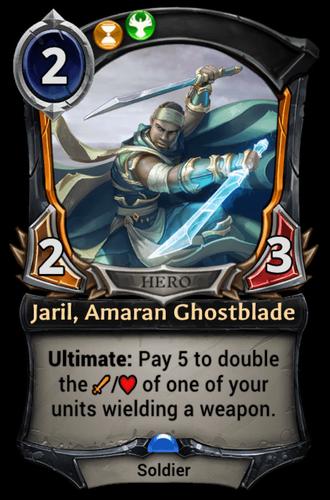 Jaril, Amaran Ghostblade card