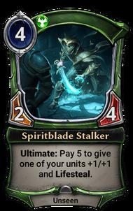 Patch 1.27 version of Spiritblade Stalker.