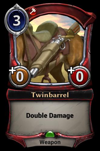 Twinbarrel card