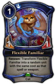 Flexible Familiar