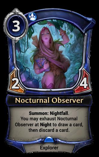 Nocturnal Observer card
