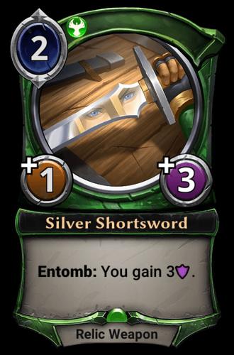 Silver Shortsword card