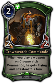 Crownwatch Commando