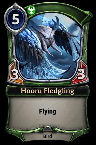 Hooru Fledgling card