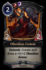 Obsidian Golem