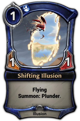 Shifting Illusion card