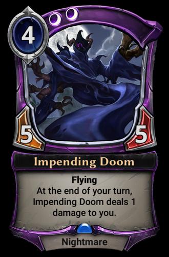 Impending Doom card