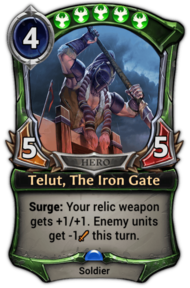 Telut, The Iron Gate