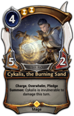 Cykalis, the Burning Sand