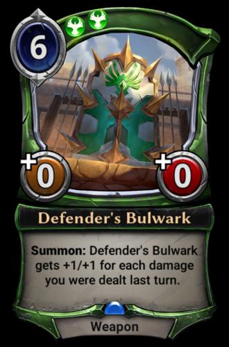 Defender's Bulwark card