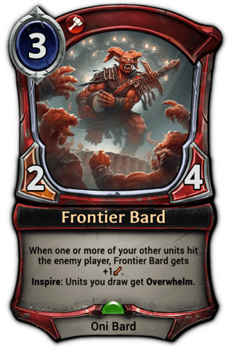 Frontier Bard card