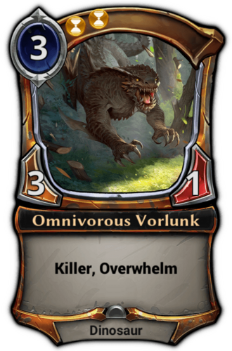 Omnivorous Vorlunk card