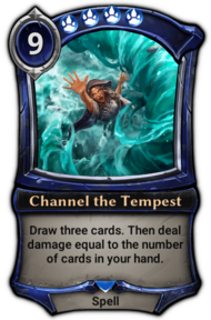 Channel the Tempest (alt)
