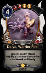 Darya, Warrior Poet