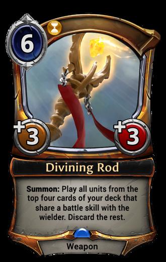 Divining Rod card