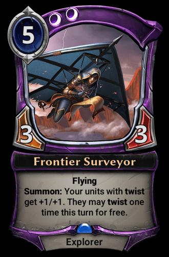 Frontier Surveyor card